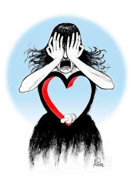 Mujer corazón